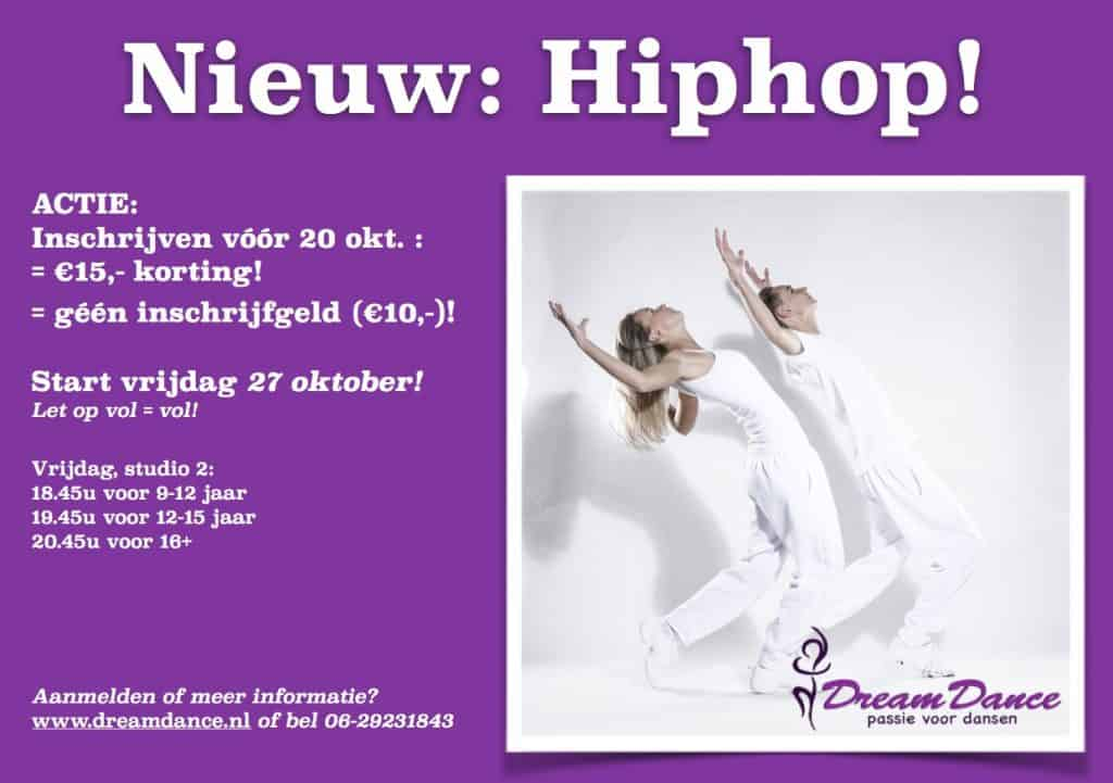 advertentie hiphop dream dance